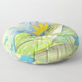 Whimiscal Bull Frog Floor Pillow