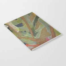 Exotic abstract patterns of nature Notebook