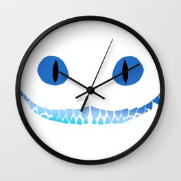 Cheshire Smile Wall Clock