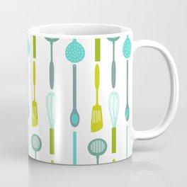 AFE Kitchen Utensils Pattern Coffee Mug