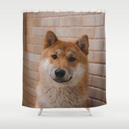 Dog by Gabriel Yuji Shower Curtain