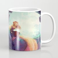 waterfall Mugs featuring Waterfall by Ann Marcellino