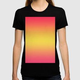 Ombre Anjo Raspberry Gold Gradient T-shirt