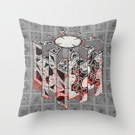 Hellraiser Puzzlebox D Throw Pillow