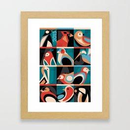 Bird Calendar 2015 Framed Art Print