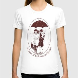 A Series of Unfortunate Events T-shirt