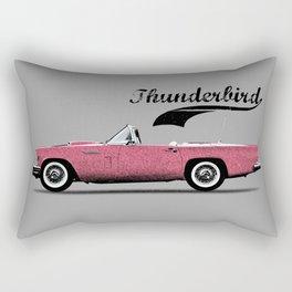 Thunderbird Pink Rectangular Pillow