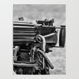 Vickers Machine Gun Poster