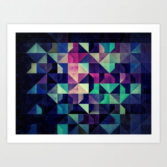 CYLYRY MYX Art Print