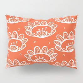 Pollen (in Orange) Pillow Sham