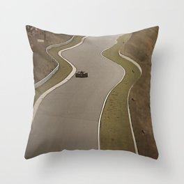 Nürburgring Nordschleife Formula 1 Racing Throw Pillow
