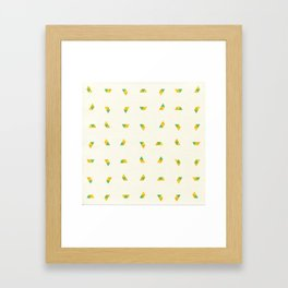 Pineapple Rotator Framed Art Print