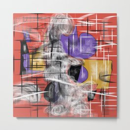 A Ghost In The House Metal Print