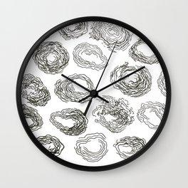 Scroll Through Wall Clock