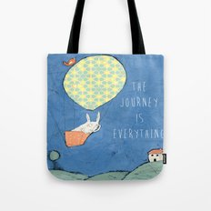 The Journey is Everything Tote Bag