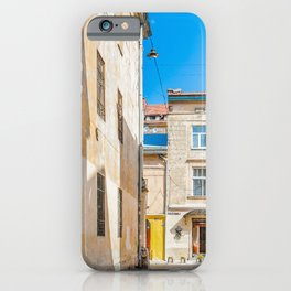 The courtyard of Lviv iPhone Case