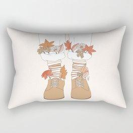 Autumn Walks Rectangular Pillow