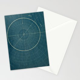 LINES & CIRCLES Stationery Cards
