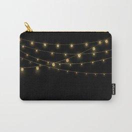 Gold rich Glitter Chain- Treasure Sparkle Carry-All Pouch