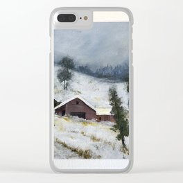 Mid Winter Clear iPhone Case