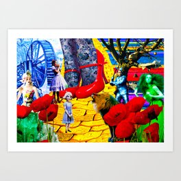 TheWizard of Oz Art Print