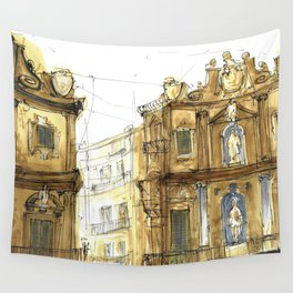 Old Palermo Wall Tapestry