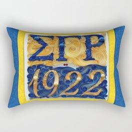 Sigma Gamma Rho 1922 Rectangular Pillow