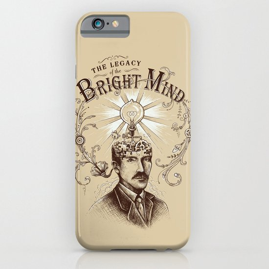 The Legacy of the Bright Mind iPhone & iPod Case