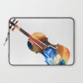 Violin Art By Sharon Cummings Laptop Sleeve