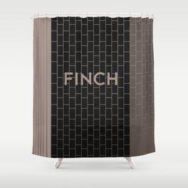 FINCH | Subway Station Shower Curtain