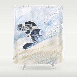 'The Seasons Turn' Shower Curtain