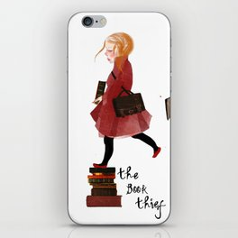 "Homage to ""The Book Thief"" iPhone Skin"