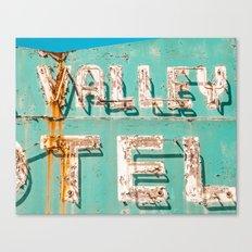 Valley Tel Canvas Print