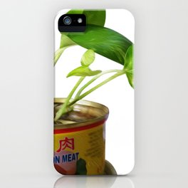 luncheon meat plant iPhone Case