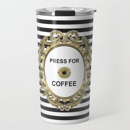 Press For Coffee Travel Mug