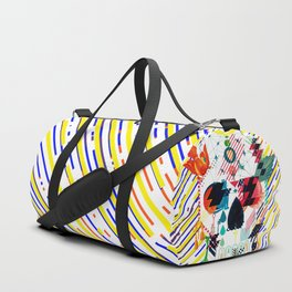 Abstract Skull Duffle Bag