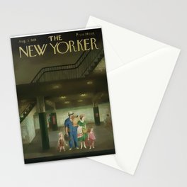 Vintage New Yorker Cover - Circa 1949 Stationery Cards