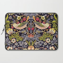 William Morris Strawberry Thief Art Nouveau Painting Laptop Sleeve