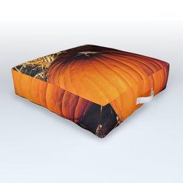 Twin Vintage Pumpkins Outdoor Floor Cushion