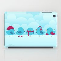 nursery iPad Cases featuring Nursery Chirp by Silly Hilli