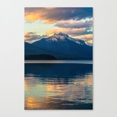 Mountains Rise To Open Skies Canvas Print