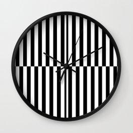 RETRO TV (BLACK-WHITE) Wall Clock
