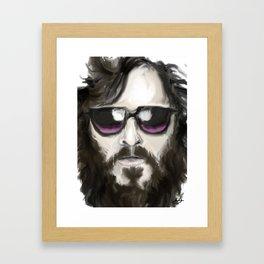 Joaquin Phoenix Framed Art Print