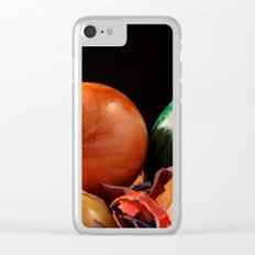 Easter 4 Clear iPhone Case