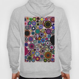 Abstract composition 136 Hoody
