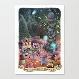 Merry This Time of Year (from Tobias and Jube) Canvas Print
