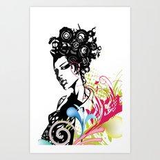 G-BORG Art Print