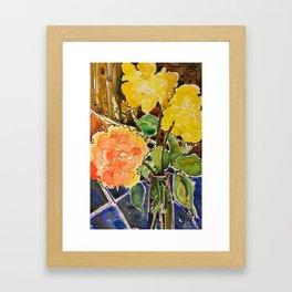 last rose of summer Framed Art Print