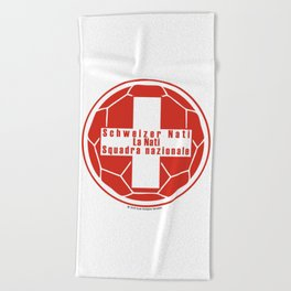Switzerland Schweizer Nati, La Nati, Squadra nazionale ~Group E~ Beach Towel