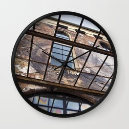 OLD FACTORY BUILDING Wall Clock